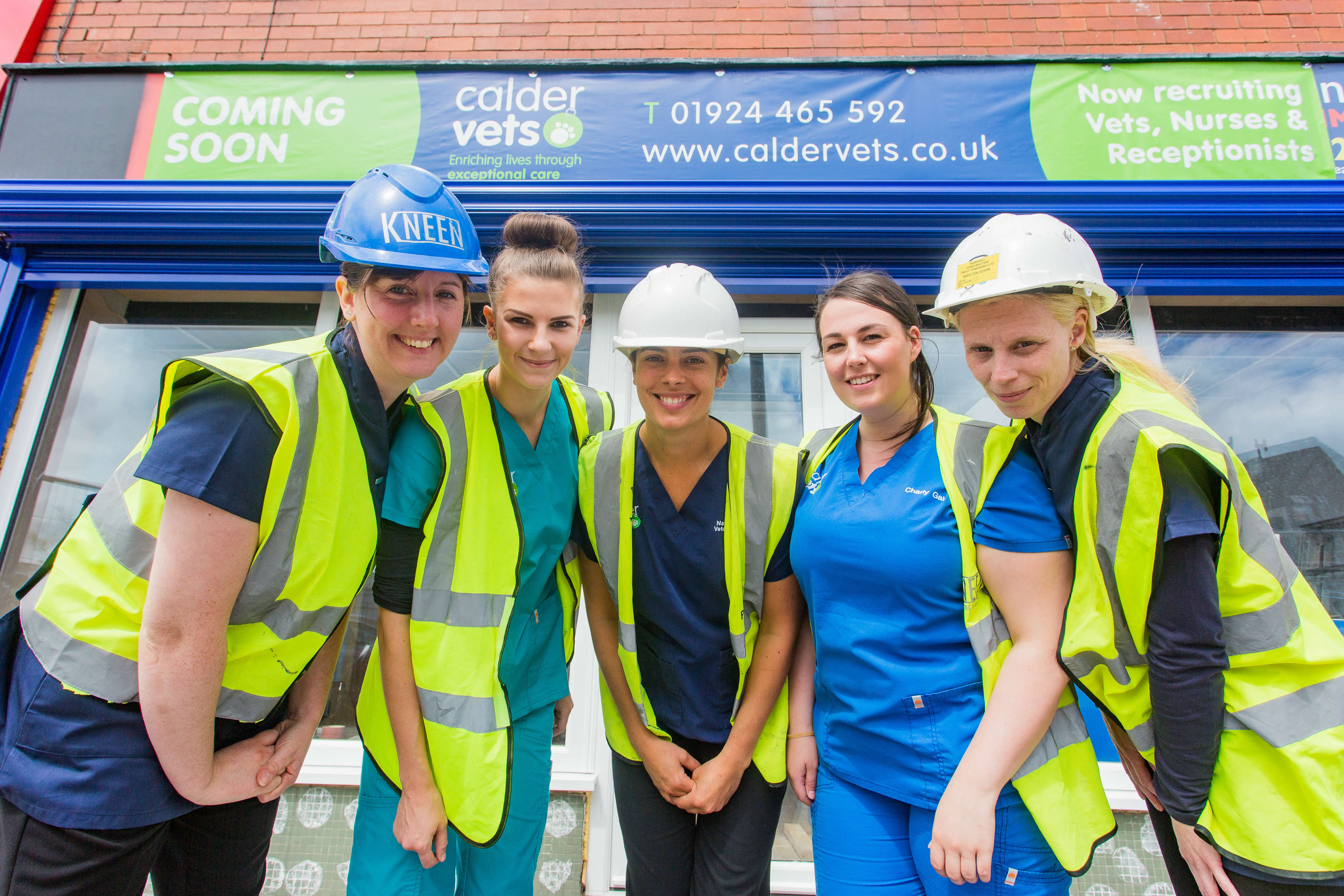 Yorkshire Dental Suite >> Five jobs created as Calder Vets invests £200,000 in new ...