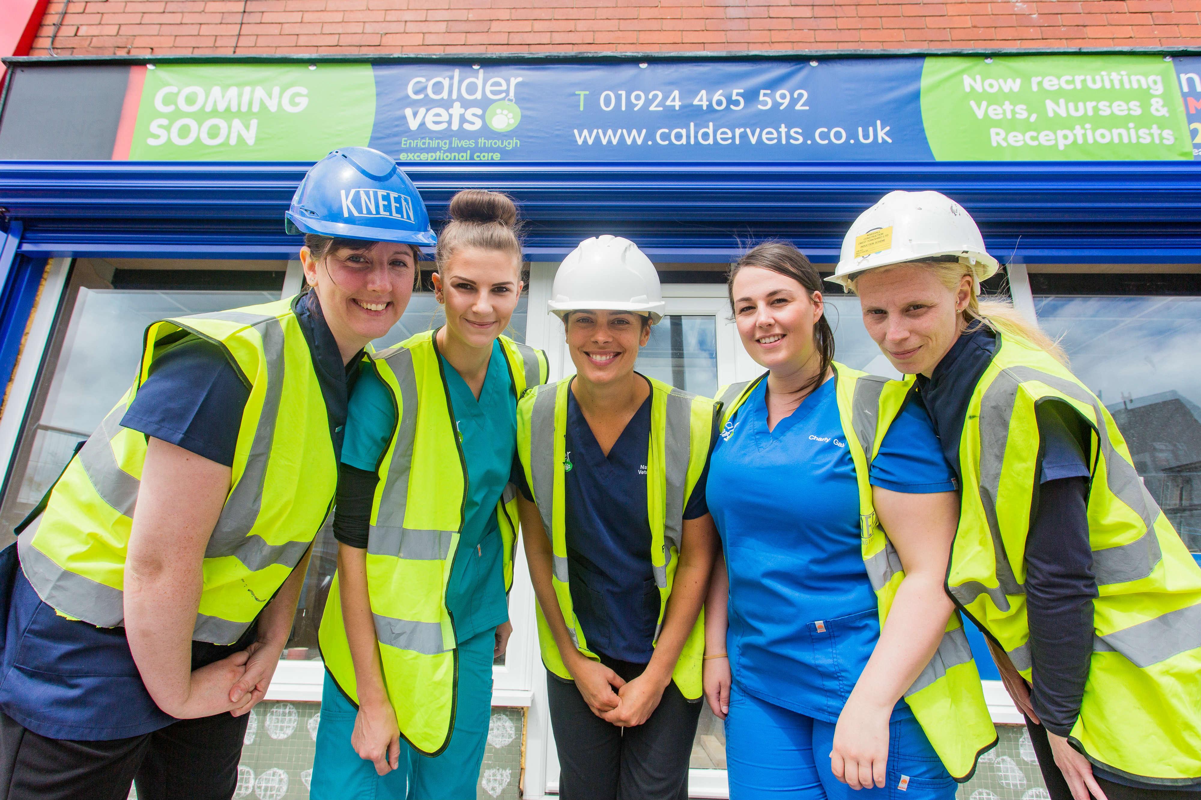 Calder Vets new branch in Halton, Leeds