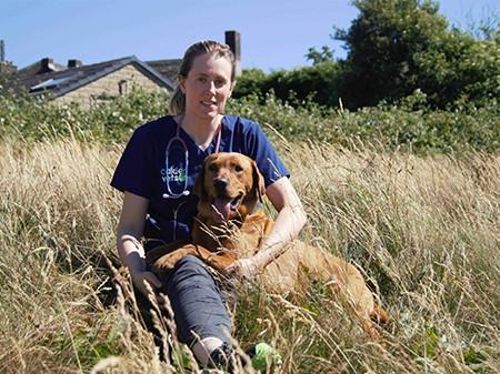 diabetes-awareness-gemma-with-dog-kilby